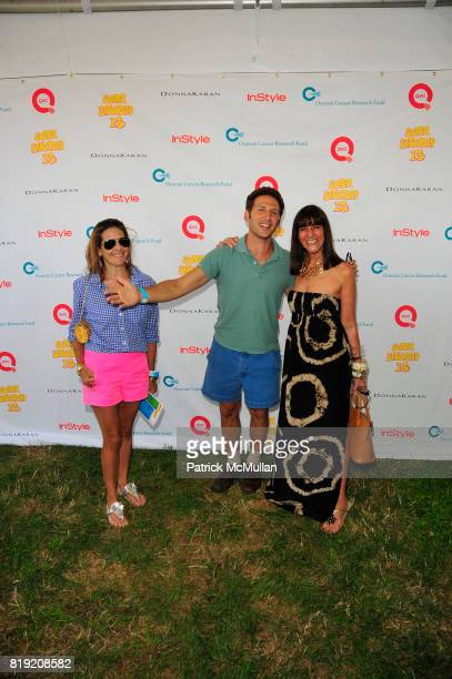 Alexandra Lebenthal Mark Feuerstein and Kay Unger attend Donna Karan Ariel Foxman InStyle Along With Kelly Ripa Ashley Greene Present Super Saturday...