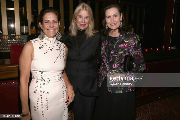 Alexandra Lebethal Lorna Graev and Alexandra Villard de Borchgrave attend David Patrick Columbia And Chris Meigher Toast The QUEST 400 At DOUBLES on...