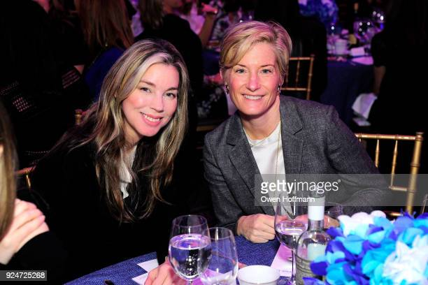 Alexandra Lind Rose and Annabelle Fowlkes attends The Boys' Club of New York Ninth Annual Winter Luncheon on February 26 2018 in New York City