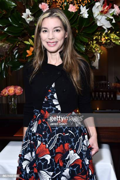 Alexandra Lind Rose attends QUEST VHERNIER Host Luncheon at MAJORELLE at Majorelle on October 17 2017 in New York City