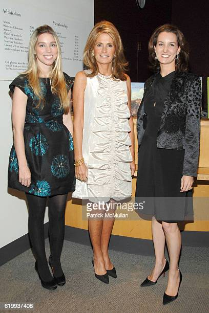 Alexandra Lind Rose Grace Meigher and Alexia Hamm Ryan attend Michel Cox Witmer hosts a kickoff for the SMSKCC Preview Party for the International...