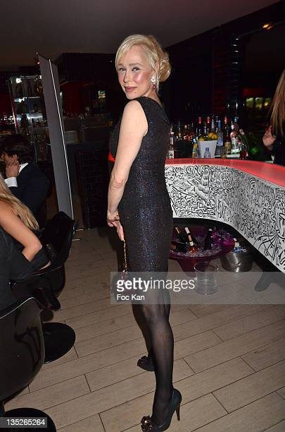 Alexandra Lorska attends the Jeweler Edouard Nahum Celebrates 'Sissi' New Ring Launch Dinner At La Gioia on December 07 2011 in Paris France
