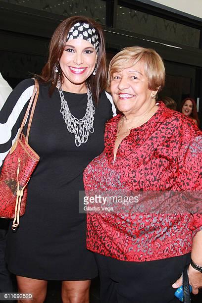 Alexandra Malagon and Camelia Garrido attend Julio Iglesias in Concert at Centro de Bellas Artes on September 30 2016 in San Juan Puerto Rico