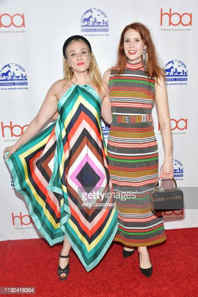 Alexandra Mandelkorn and Kate Nash attend the Hollywood Beauty Awards at Avalon Hollywood on February 17 2019 in Los Angeles California