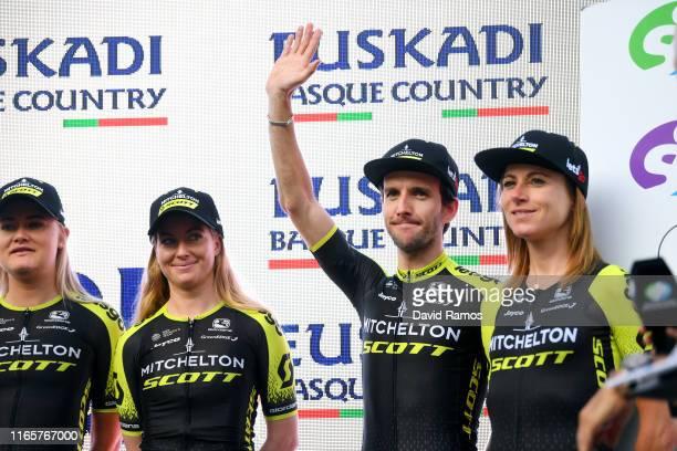 Alexandra Manly of Australia and Team MitcheltonScott / Simon Yates of Great Britain and Team MitcheltonScott / Annemiek van Vleuten of The...