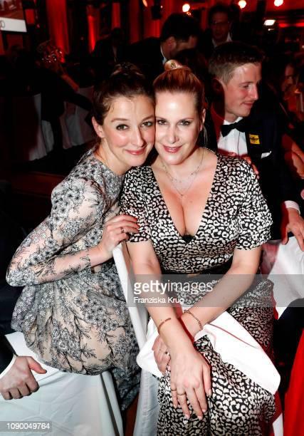 Alexandra Maria Lara and Anika Decker during the 46th German Film Ball at Hotel Bayerischer Hof on January 26 2019 in Munich Germany