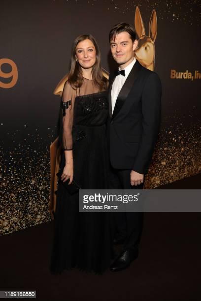 Alexandra Maria Lara and Sam Riley attend the 71st Bambi Awards at Festspielhaus Baden-Baden on November 21, 2019 in Baden-Baden, Germany.