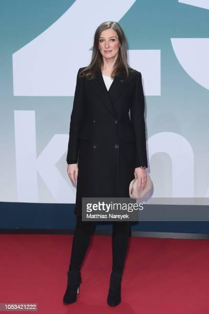 Alexandra Maria Lara attends the '25 km/h' movie premiere at CineStar on October 25, 2018 in Berlin, Germany.