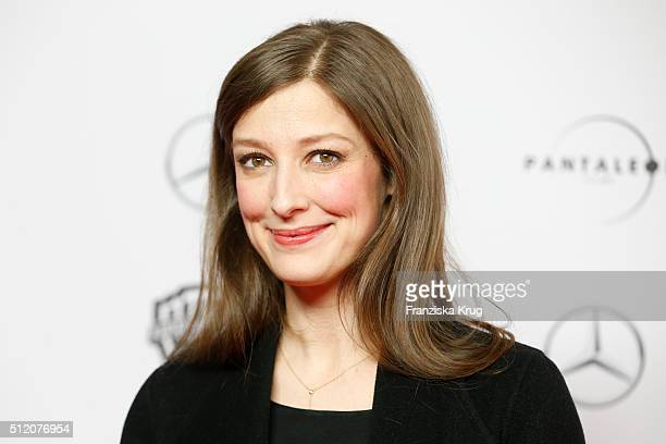 Alexandra Maria Lara attends the 'Der geilste Tag' Premiere at Zoo Palast on February 24 2016 in Berlin Germany
