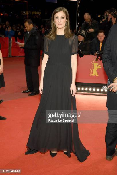 Alexandra Maria Lara attends the 'The Kindness Of Strangers' premiere during the 69th Berlinale International Film Festival Berlin at Berlinale...