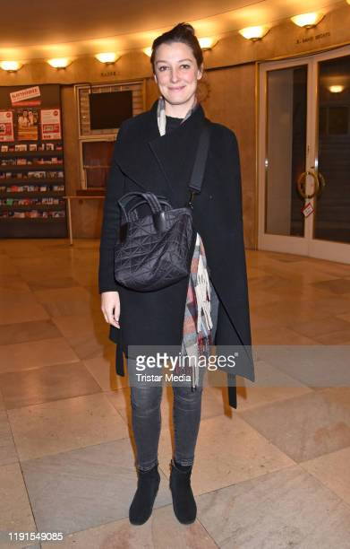 Alexandra Maria Lara during the Skylight' theater premiere at Schiller Theater on December 1 2019 in Berlin Germany