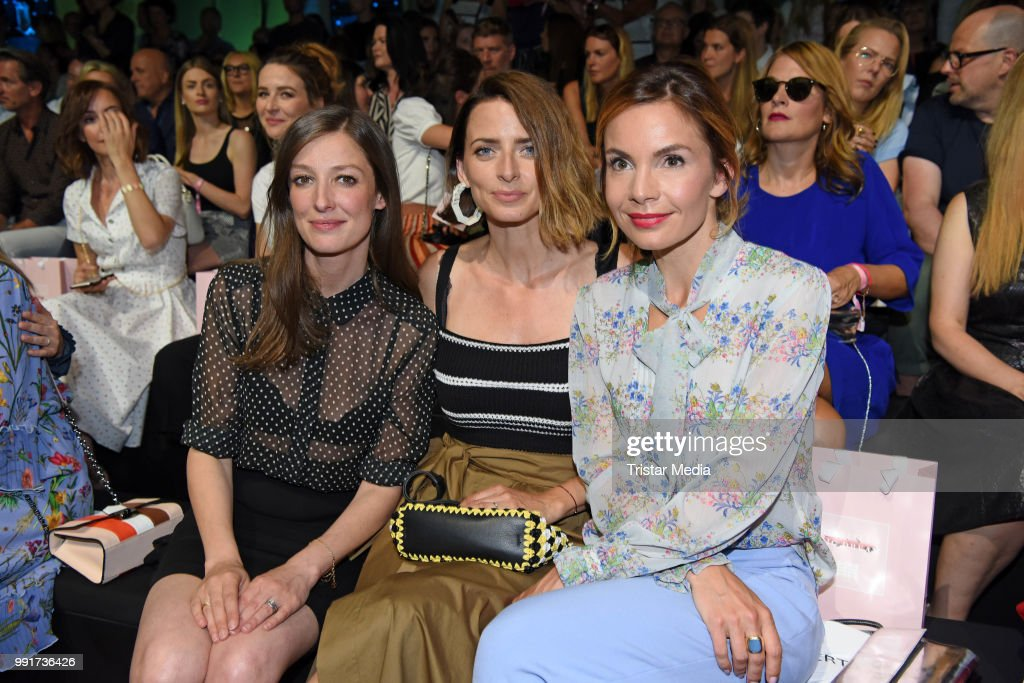 Alexandra Maria Lara Eva Padberg And Nadine Warmuth Attend The