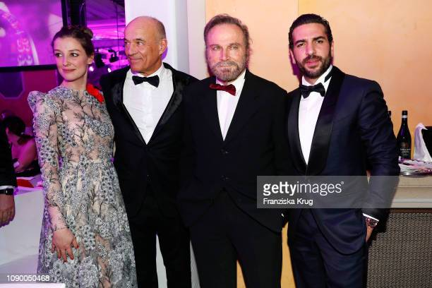 Alexandra Maria Lara Heiner Lauterbach Franco Nero and Elyas M'Barek during the 46th German Film Ball at Hotel Bayerischer Hof on January 26 2019 in...