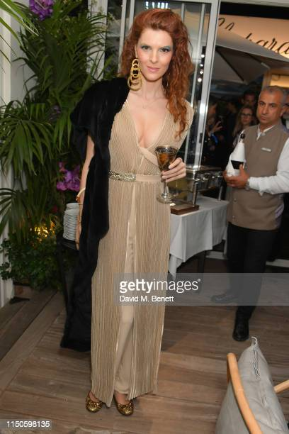 Alexandra Mas attends the Chopard Parfums 'La Nuit Des Rois' dinner party hosted by Caroline Scheufele and Patrizio Stella at Hotel Martinez on May...