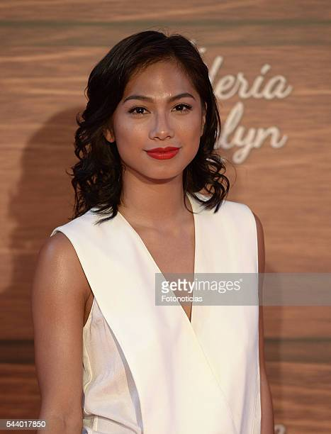 Alexandra Masangkay attends the 'Mi Panaderia de Brooklyn' premiere at Capitol cinema on June 30, 2016 in Madrid, Spain.