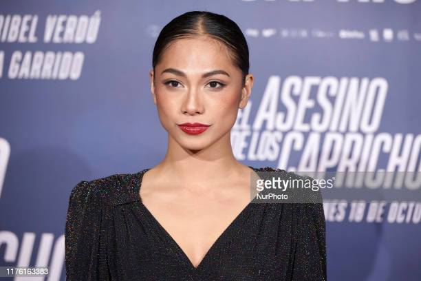 Alexandra Masangkay attends the 'The Goya Murders' premiere at Verdi Cinema in Madrid, Spain on Oct 15, 2019