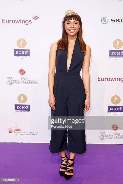 Alexandra Maurer attends the Koenig Pilsener At Echo Award 2016 on April 07 2016 in Berlin Germany