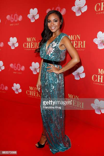 Alexandra Maurer attends the Mon Cheri Barbara Tag 2017 at Postpalast on November 30 2017 in Munich Germany