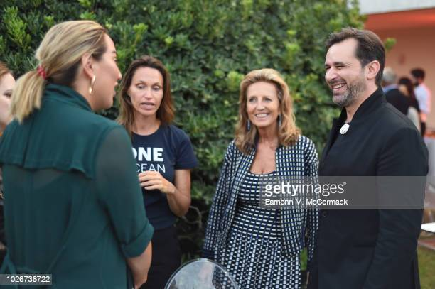 Alexandra Meyers Anne de Carbuccia Cecilia Rossi and Stéphane Gerschel attend One Ocean at Venice Film Festival on September 4 2018 in Venice Italy
