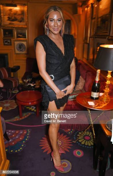 Alexandra Meyers attends the Rita Ora dinner and performance at Annabel's on June 27 2017 in London England