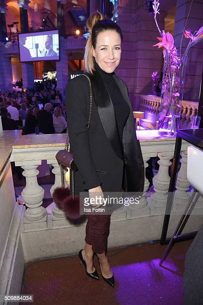 Alexandra Neldel attends the ARD Hosts Blue Hour Reception on February 12 2016 in Berlin Germany