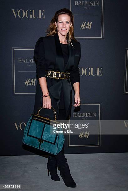 Alexandra Neldel attends the BALMAIN x H&M Berlin Launch Party on November 4, 2015 in Berlin, Germany.