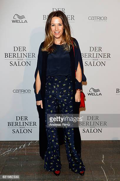 Alexandra Neldel attends the group presentation during the Der Berliner Mode Salon A/W 2017 at Kronprinzenpalais on January 18 2017 in Berlin Germany