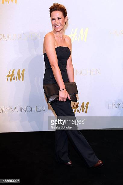 Alexandra Neldel attends the HM store opening on April 9 2014 in Munich Germany
