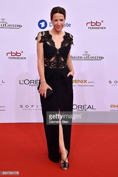 Alexandra Neldel attends the Lola - German Film Award on May 27, 2016 in Berlin, Germany.