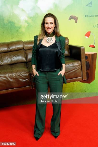 Alexandra Neldel attends the premiere of the film 'Lommbock' at Cinedom on March 14 2017 in Cologne Germany