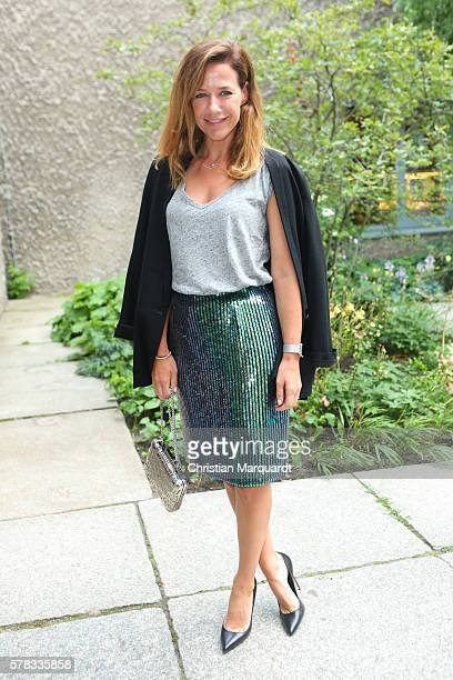 Alexandra Neldel attends the Sky Arts Launch event at Koenig Galerie on July 21 2016 in Berlin Germany