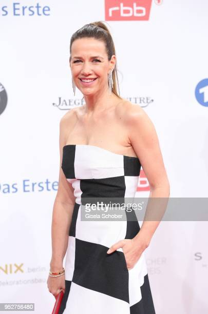 Alexandra Neldel during the Lola German Film Award red carpet at Messe Berlin on April 27 2018 in Berlin Germany