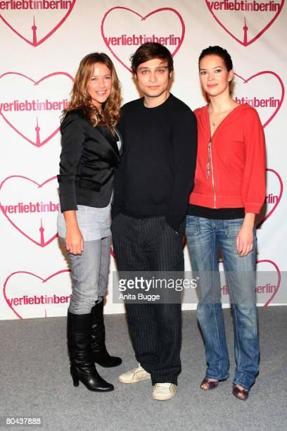 Alexandra Neldel Tim Sander and Laura Osswald