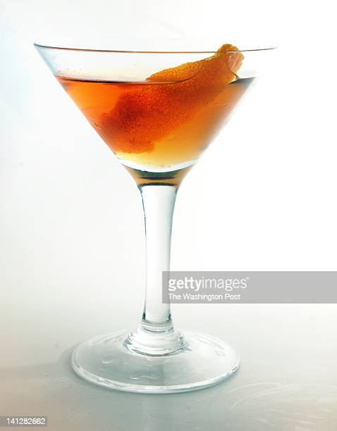 Alexandra Nichols created this drink called 'Her Lips Were Devil Red' that's made of anero tequila sweet vermouth ancho infused agave syrup and...