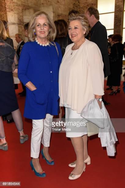 Alexandra Oetker and MarieLuise Marjan attend the CIVIS Media Award 2017 on June 1 2017 in Berlin Germany