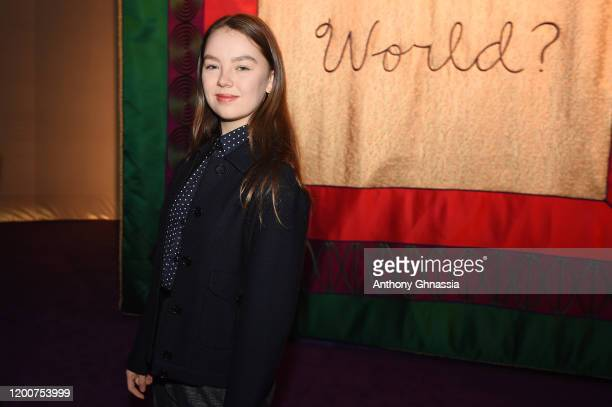 Alexandra of Hanover attends the Dior Haute Couture Spring/Summer 2020 show as part of Paris Fashion Week on January 20, 2020 in Paris, France.