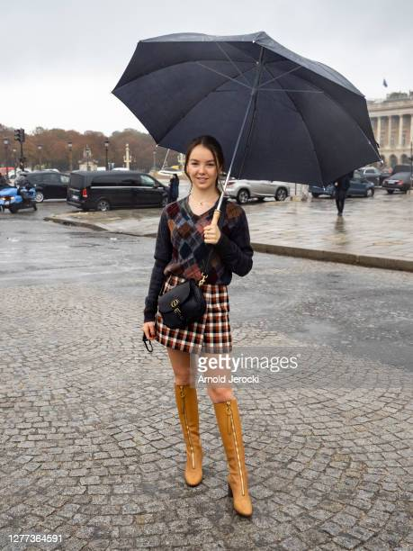 Alexandra of Hanover attends the Dior Womenswear Spring/Summer 2021 show as part of Paris Fashion Week on September 29, 2020 in Paris, France.