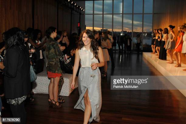 Alexandra O'Neill attends PORTER GREY Spring 2011 Presentation at High Line Room on September 11 2010 in New York City