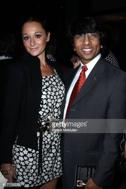 Alexandra Osipow and Dr Pahaid attend SWATCH Host a Private Launch Party for the NEW GENTS COLLECTION at Gansevoort Park Ave on October 6 2010 in New...