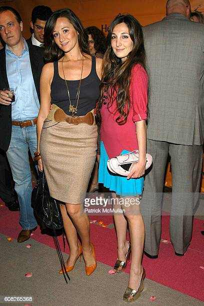 Alexandra Osipow and Nicole Romano attend HENNESSY COGNAC Presents TRACY STERN's Book Launch TEA PARTY at Christie's Auction House on April 30 2007...