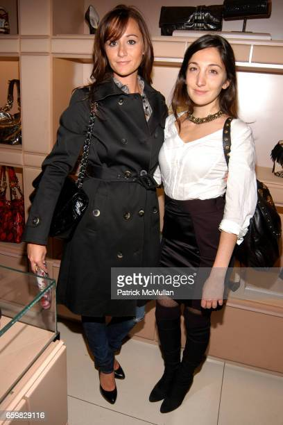 Alexandra Osipow and Nicole Romano attend Jimmy Choo and Vogue Celebrate the Launch of Project PEP at Jimmy Choo on November 4 2009 in New York City