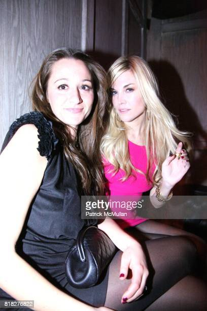 Alexandra Osipow and Tinsley Mortimer attend SPY MAGAZINE 15th Anniversary Party hosted by AVENUE at AVENUE on February 18 2010 in New York City