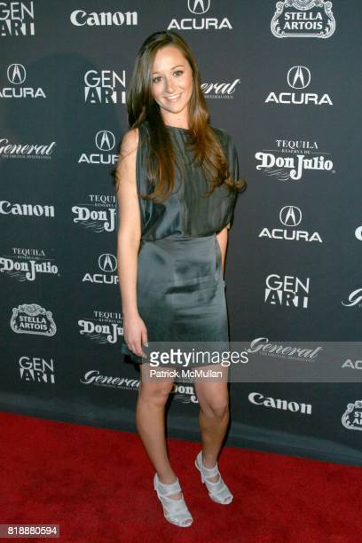 Alexandra Osipow attends New York Premiere of 'HAPPYTHANKYOUMOREPLEASE' Presented by THE GEN ART FILM FESTIVAL and ACURA at Ziegfeld Theatre on April...