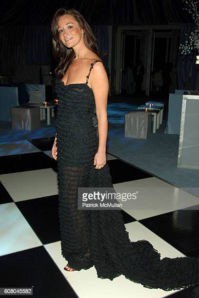 Alexandra Osipow attends The WINTER WONDERLAND BALL at The New York Botanical Garden on December 8 2006 in New York City