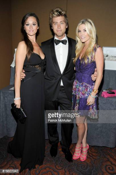 Alexandra Osipow Lance Bass and Tinsley Mortimer attend NEW YORKERS FOR CHILDREN Spring Dinner Dance Presented by AKRIS at The Mandarin Oriental on...