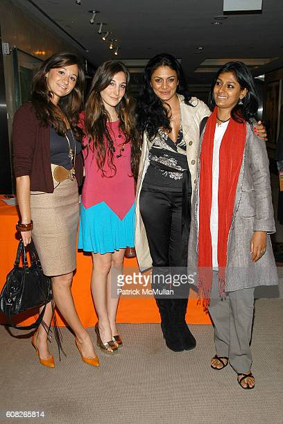 Alexandra Osipow Nicole Romano Donna D'Cruz and Nandita Das attend HENNESSY COGNAC Presents TRACY STERN's Book Launch TEA PARTY at Christie's Auction...