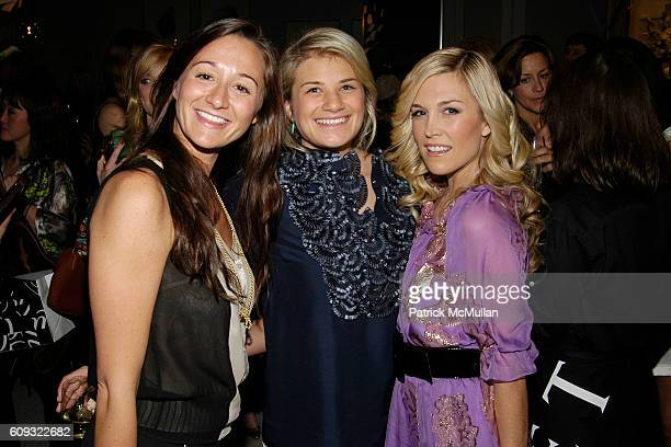 Alexandra Osipow Tatiana Sotiriou and Tinsley Mortimer attend BADGLEY MISCHKA Platinum Sportswear launch party hosted by SAKS FIFTH AVENUE at Saks...