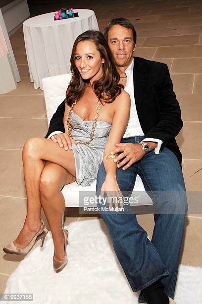 Alexandra Osipow Vissicchio and AJ Vissicchio attend The Young Friends of the ASPCA Presents 'The Shaggy Dog' at The IAC Building on October 16 2008...