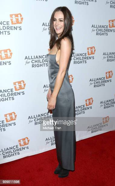 Alexandra Park arrives to The Alliance for Children's Rights 26th annual dinner held at The Beverly Hilton Hotel on March 28 2018 in Beverly Hills...