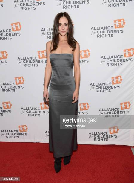 Alexandra Park attends The Alliance For Children's Rights 26th Annual Dinner at The Beverly Hilton Hotel on March 28 2018 in Beverly Hills California